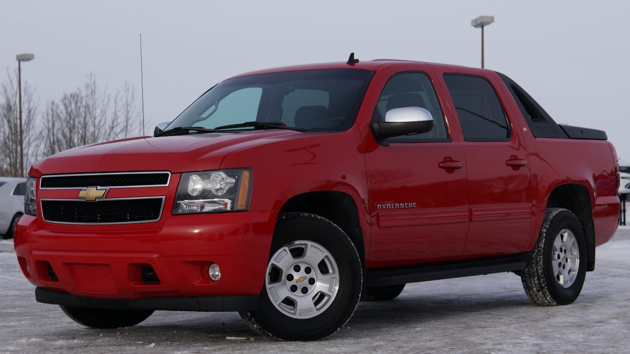 2011 chevrolet avalanche 4wd crew cab lt