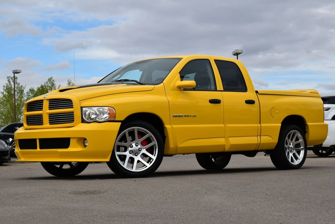 2005 dodge ram srt 10 quad cab yellow fever special 466 of only 500