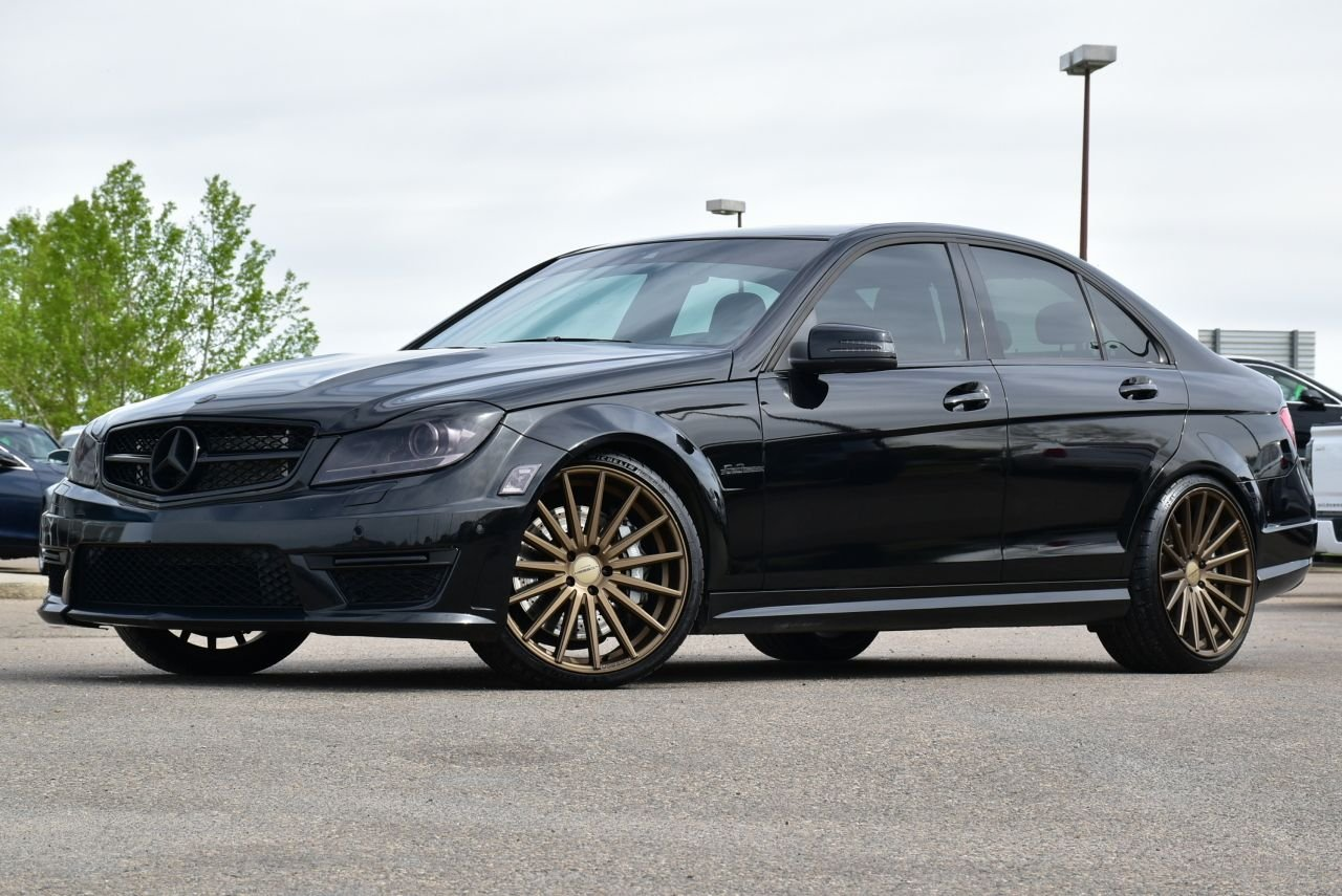 2012 mercedes benz c63 amg supercharged