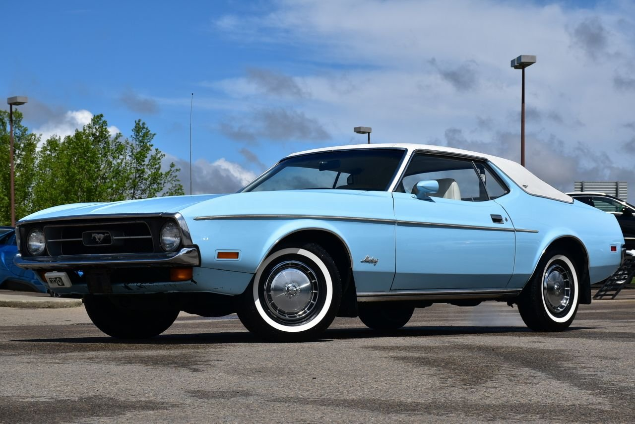 1972 ford mustang notchback original mileage