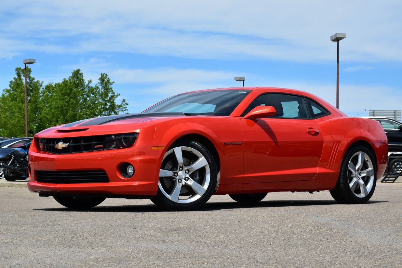 2012 chevrolet camaro 2ss inferno orange