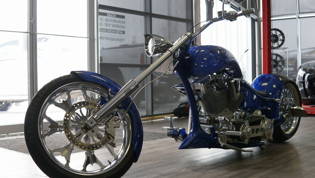 2014 rolling thunder custom chopper