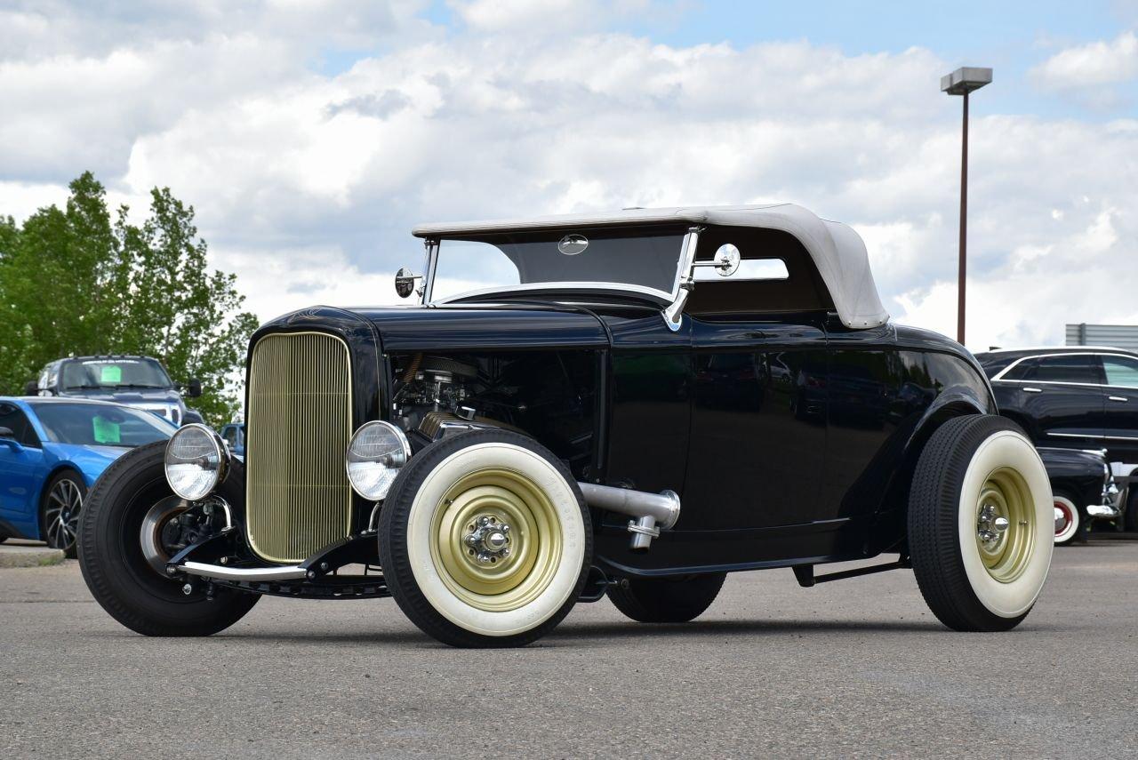 1932 ford hot rod roadster full custom