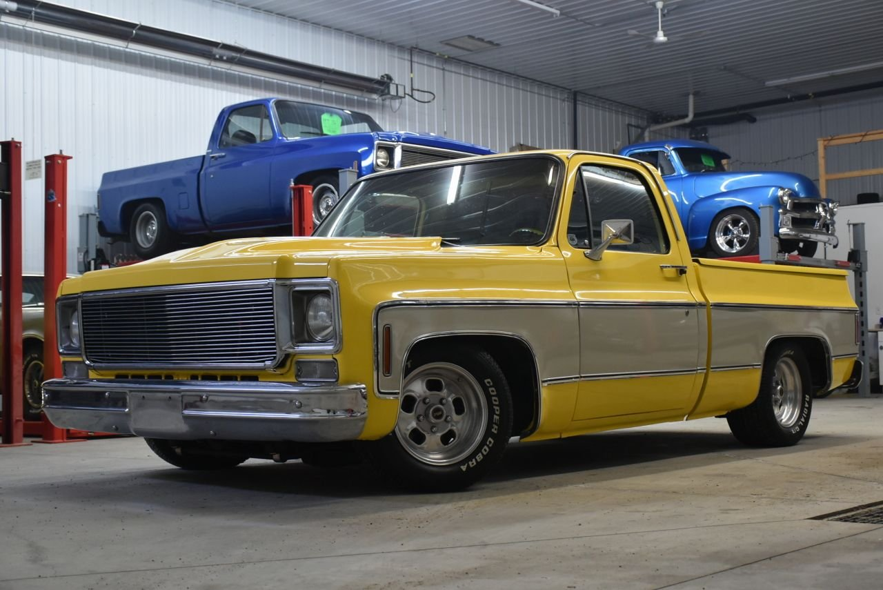 1976 gmc c1500 427 squarebody custom