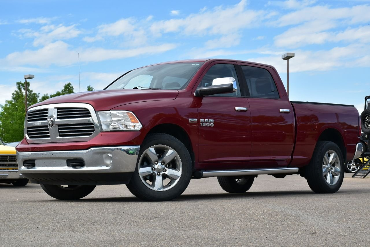 2014 ram 1500 big horn loaded