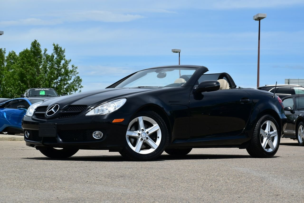 2009 mercedes benz slk300 hard top convertible