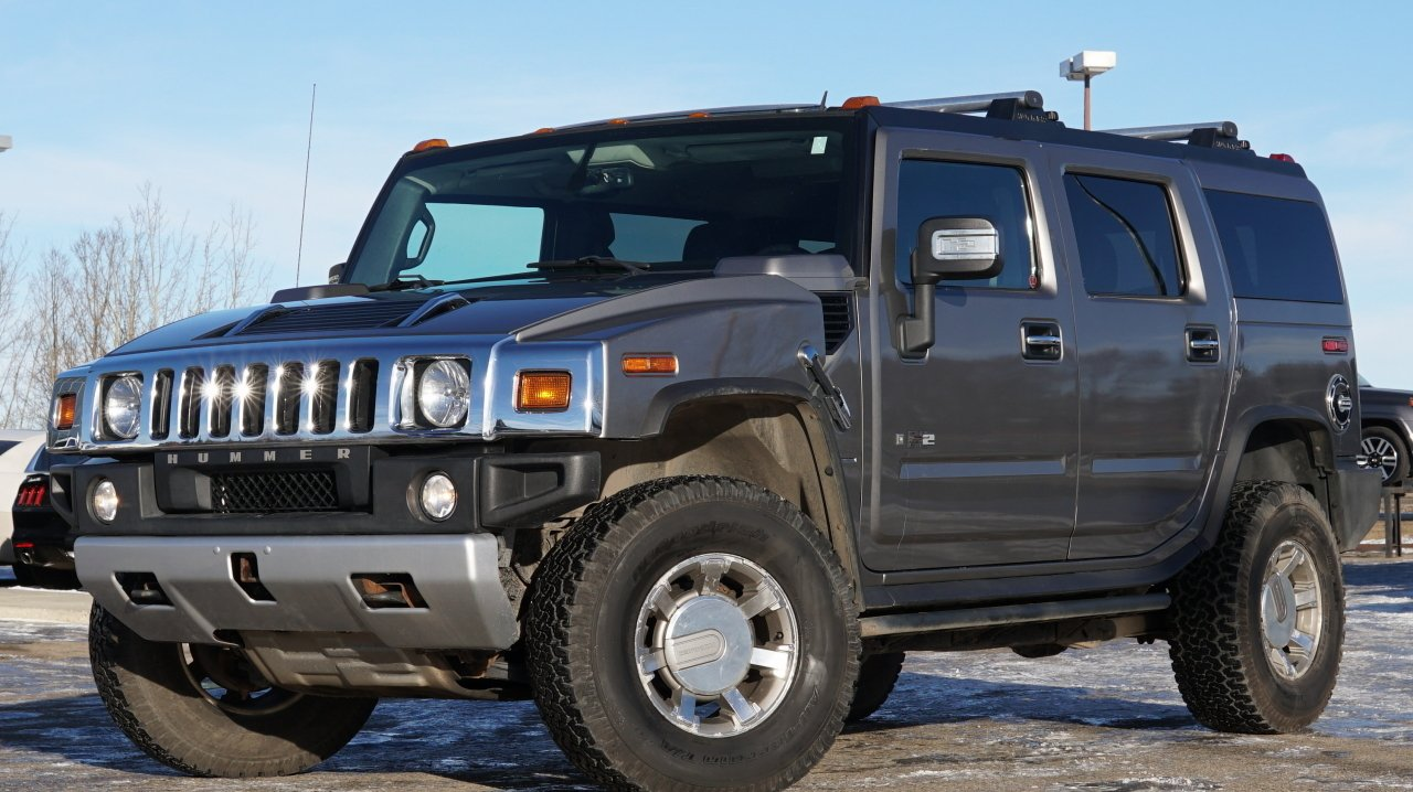 2008 hummer h2 4 door loaded 4wd suv