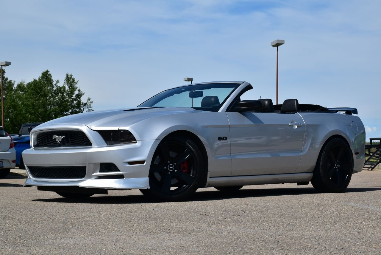 2013 ford mustang gt convertible w roush exhaust