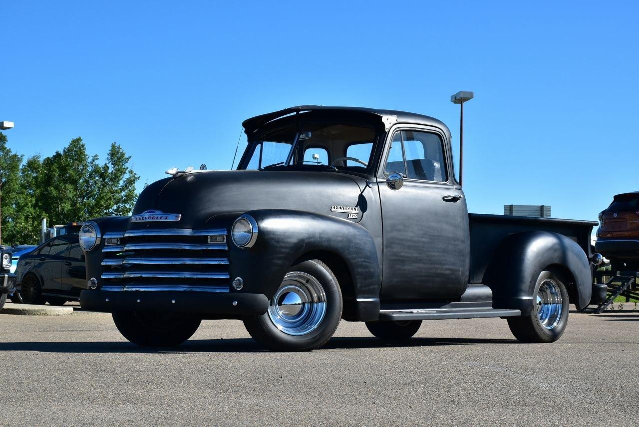 1952 chevrolet 1300 5 window custom