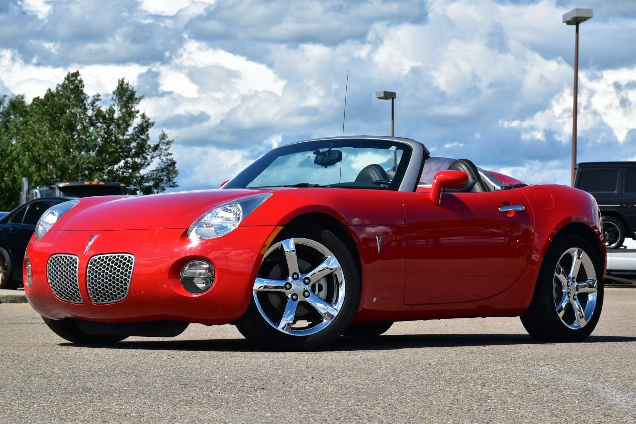2008 pontiac solstice victory red convertible