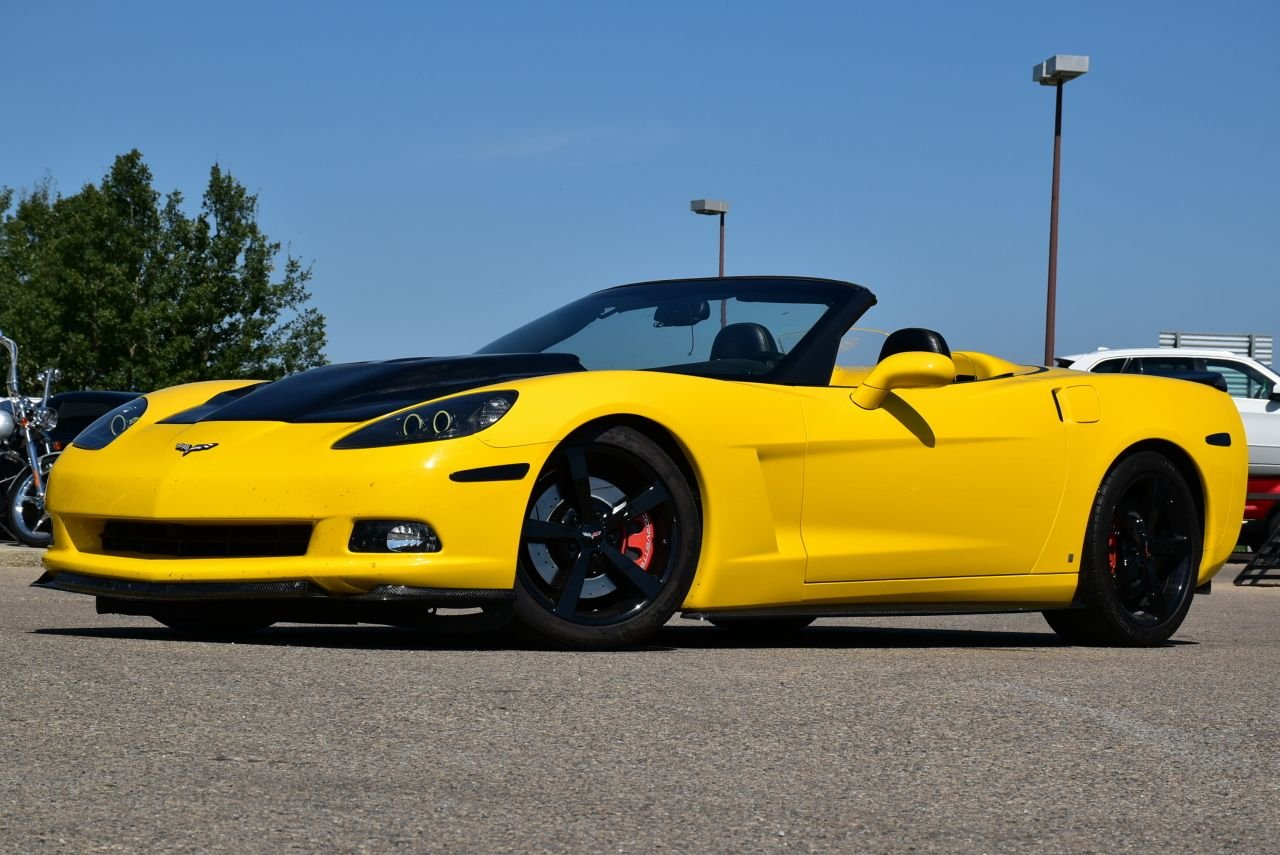 2007 chevrolet corvette convertible full custom