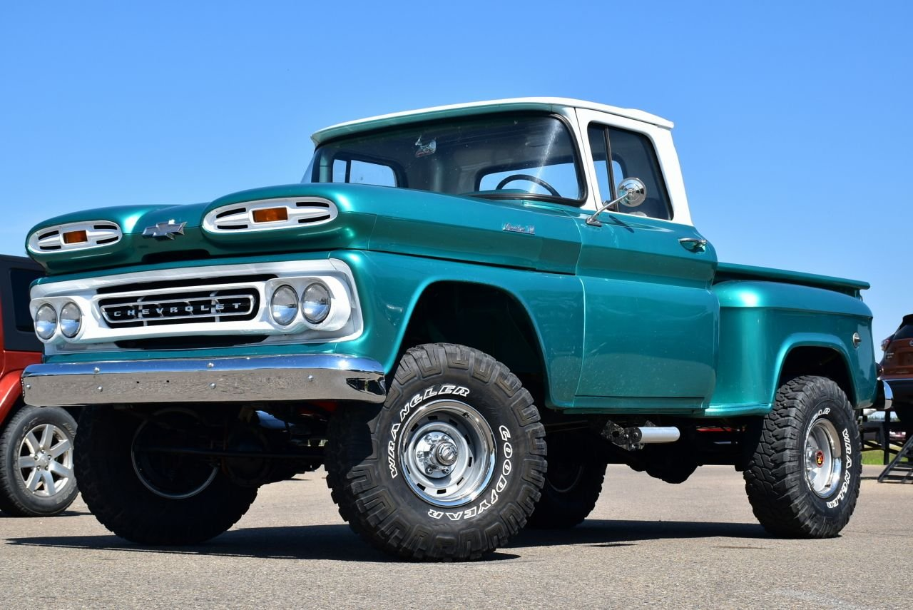 1961 chevrolet apache 4x4 lifted