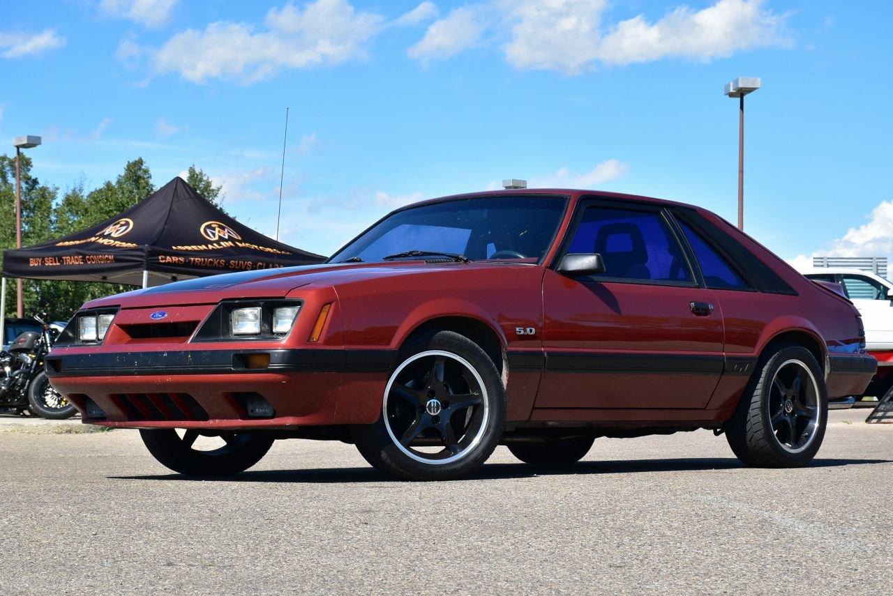 1986 ford mustang cobra