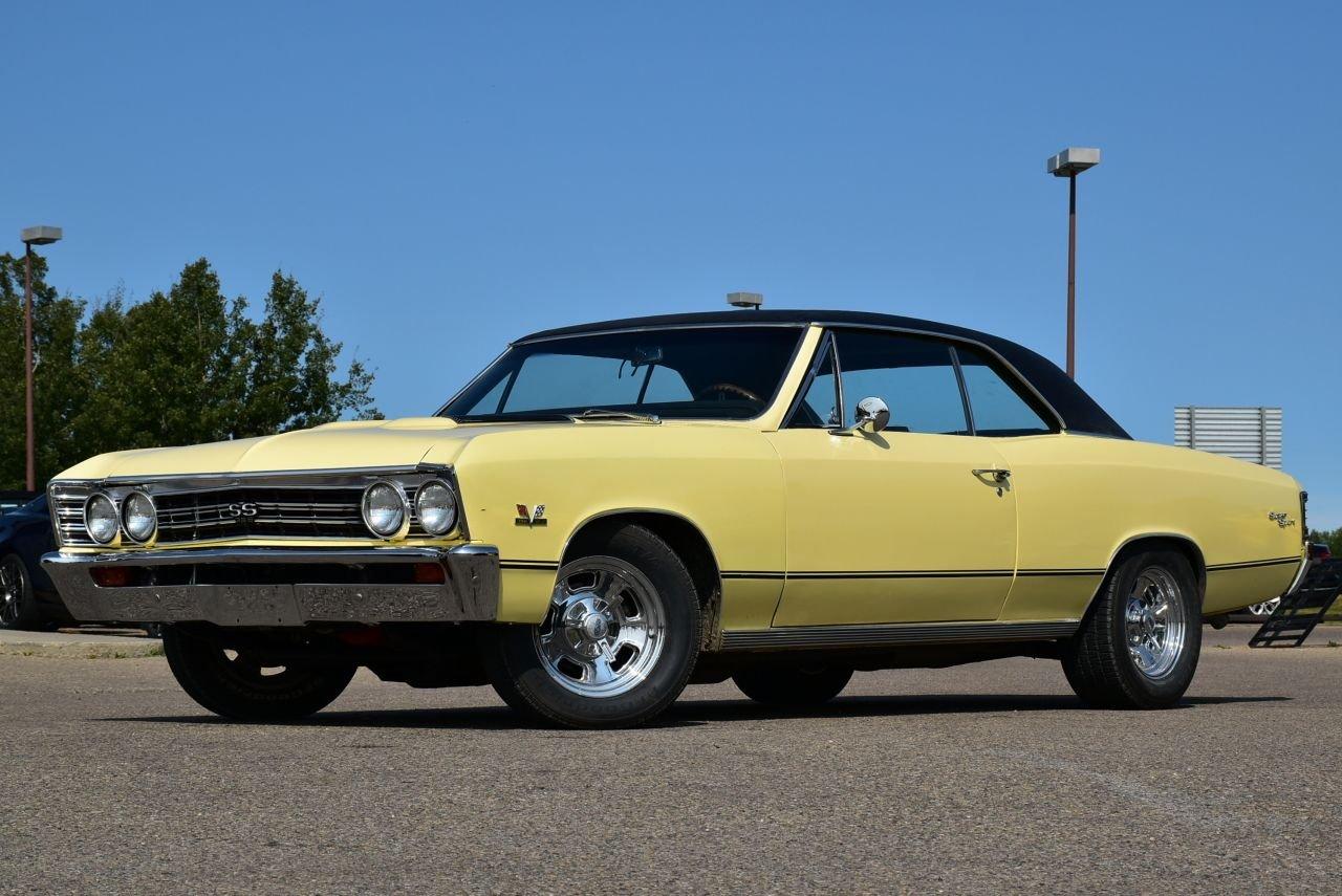 1967 chevrolet chevelle 396 ss clone