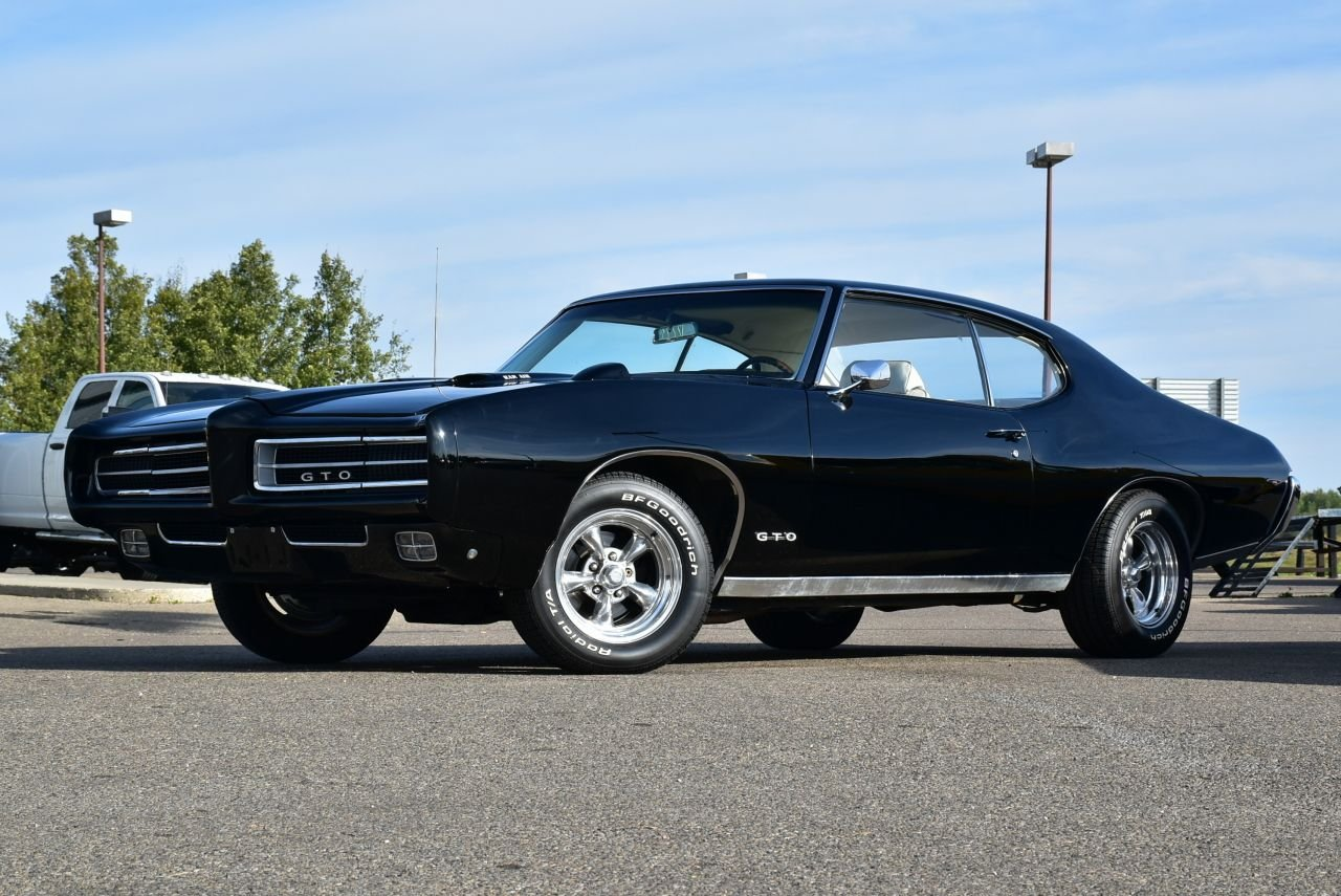 1969 pontiac gto hard top numbers matching 400