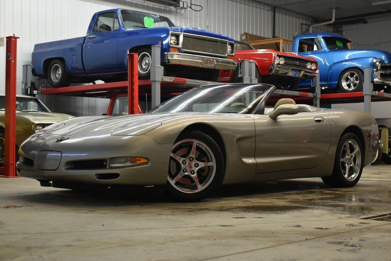 2002 chevrolet corvette 3lt convertible