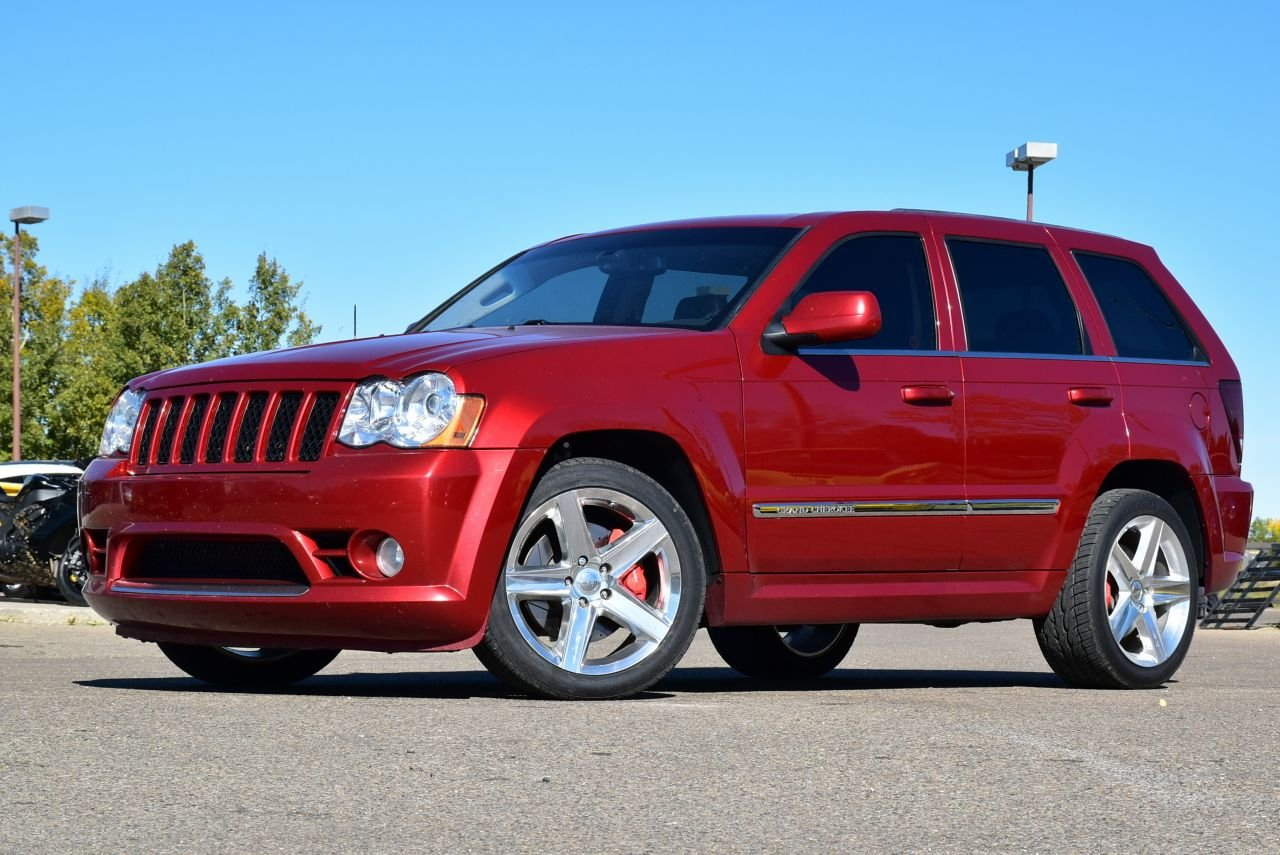 2010 jeep grand cherokee srt8 with extras