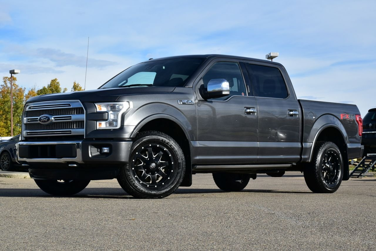 2015 ford f 150 platinum supercrew loaded