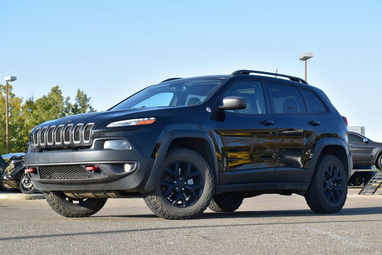 2017 jeep cherokee trailhwak loaded