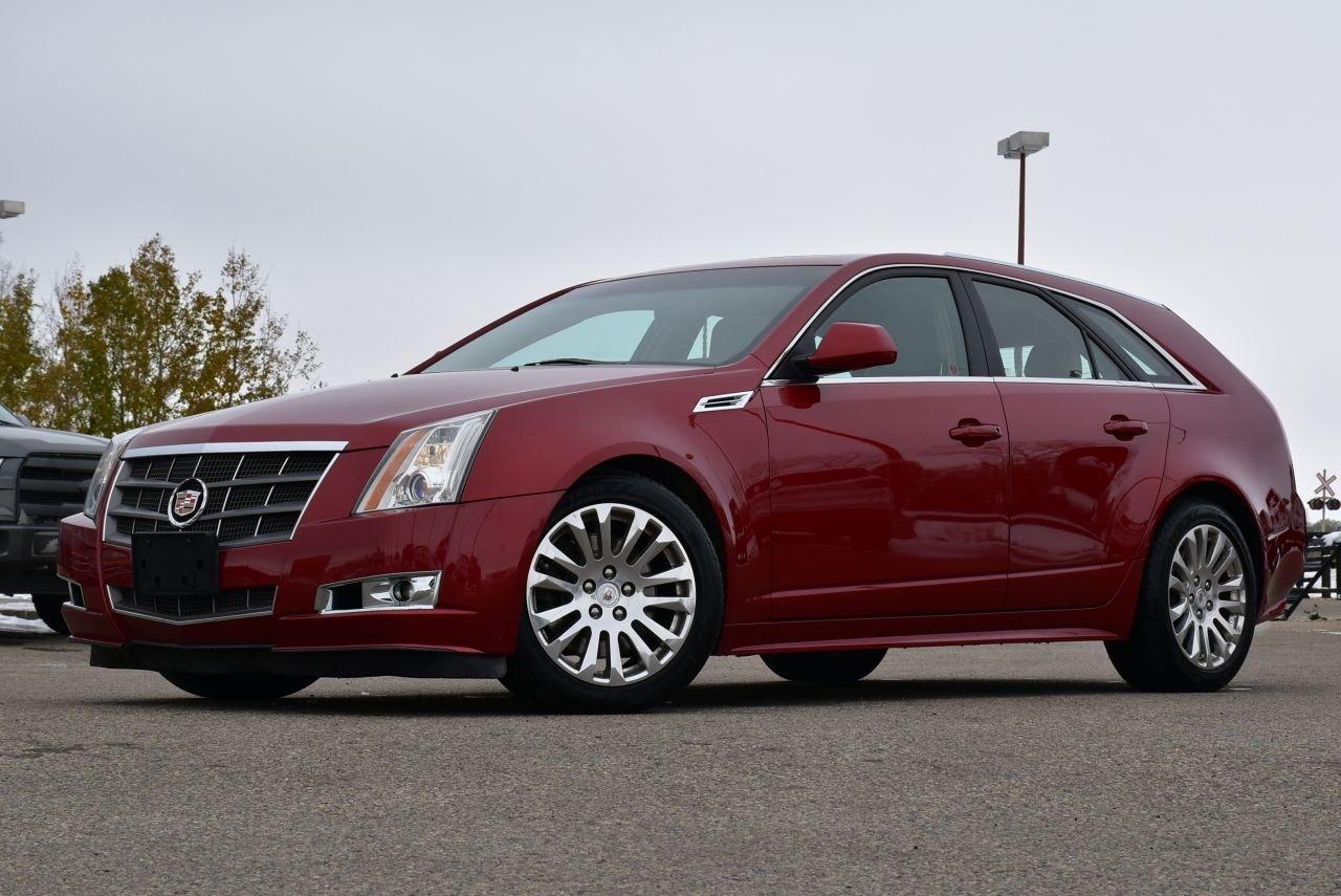 2010 cadillac cts wagon awd premium