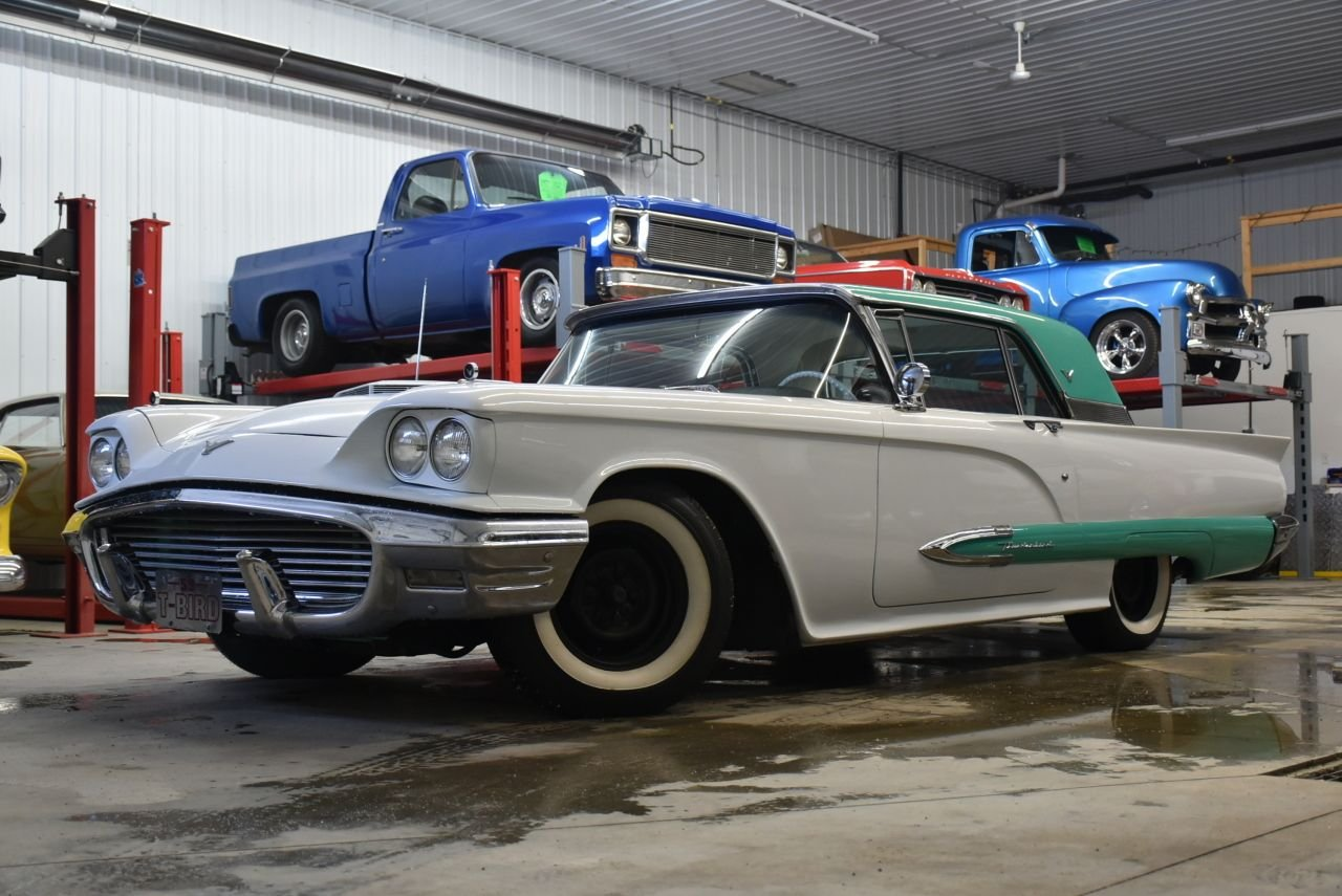 1959 ford thunderbird less than 50 kilometers