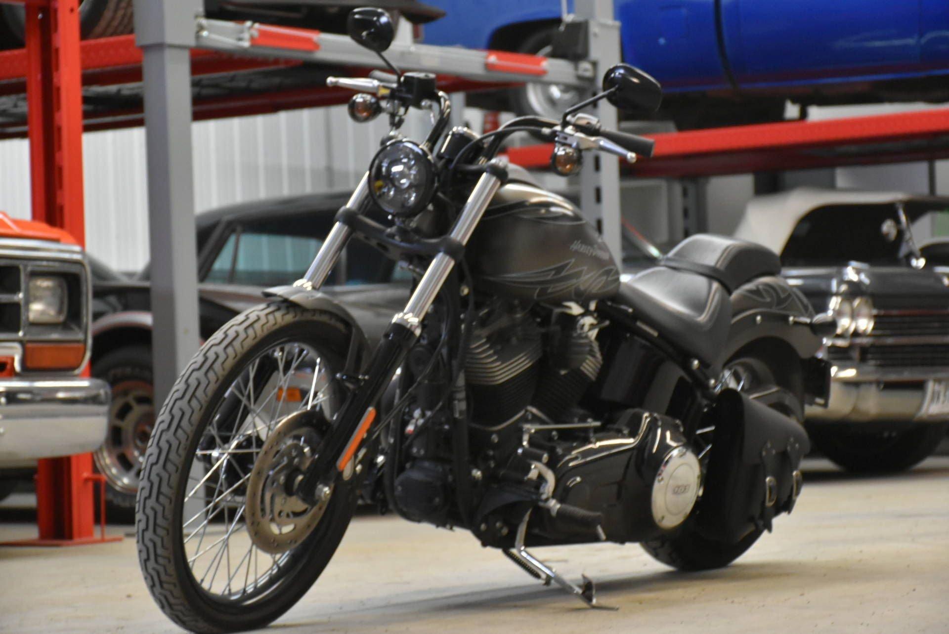 2012 harley davidson blackline 103 w aftermarket exhaust