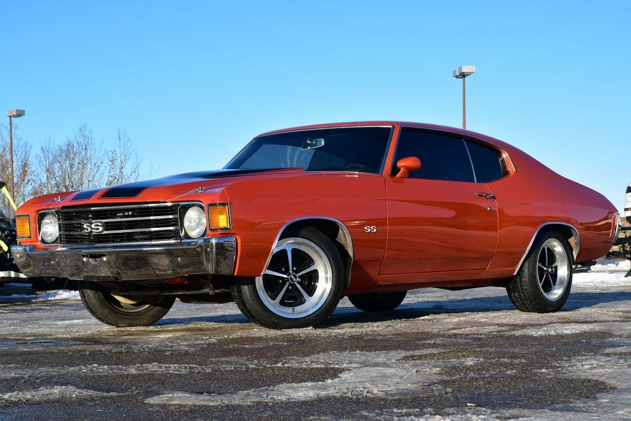 1972 chevrolet chevelle true ss 1 of 420 w original miles