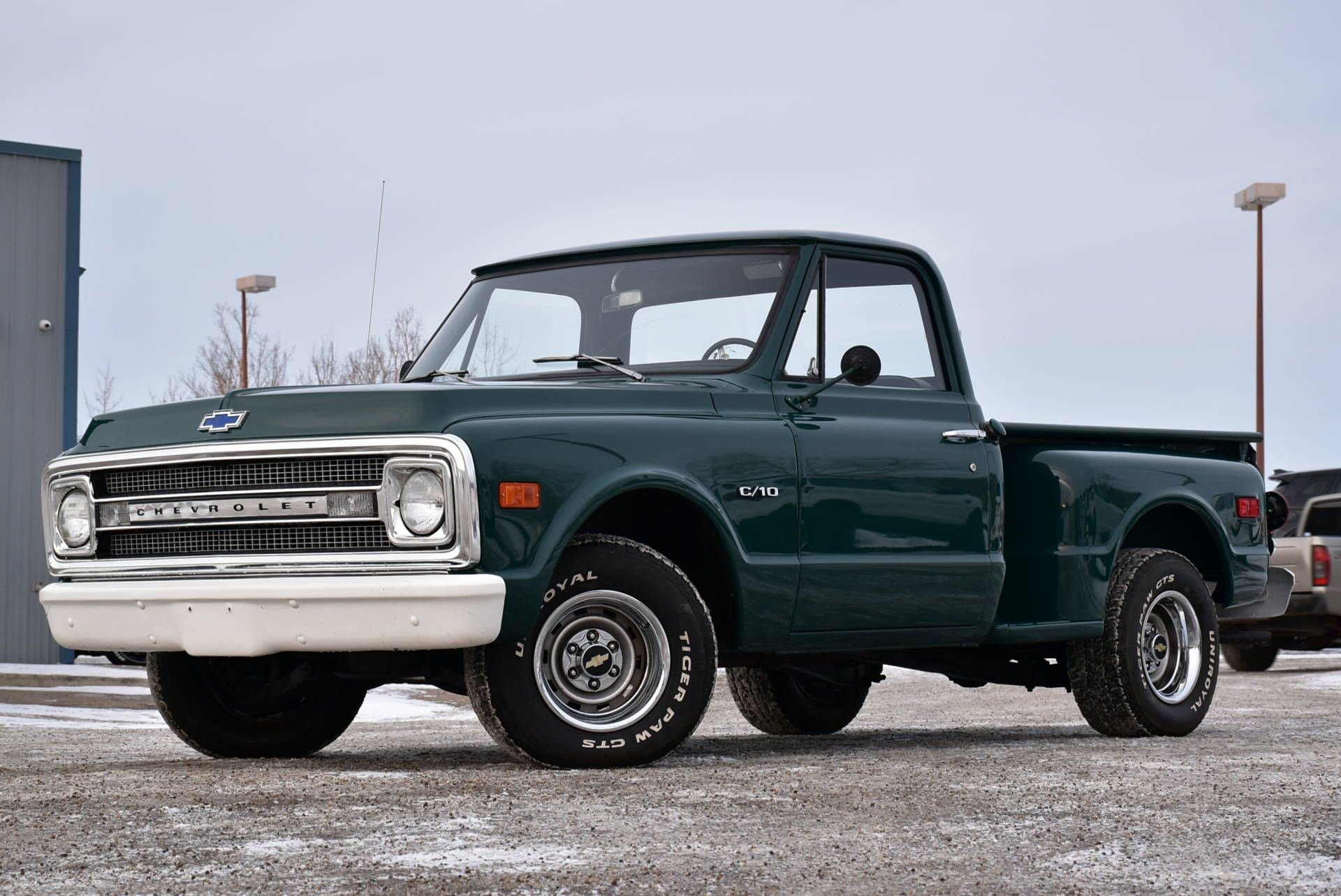 1969 chevrolet c10 stepside custom