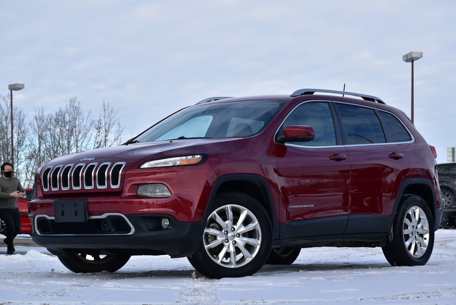 2016 jeep cherokee limited w adaptive cruise