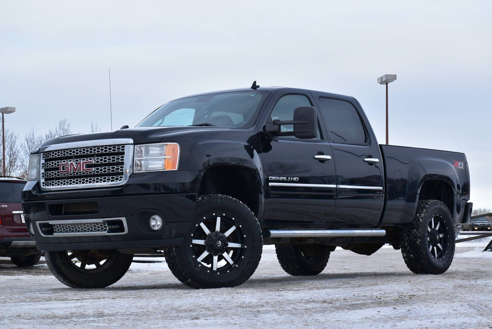 2013 gmc sierra 2500hd denali lifted loaded