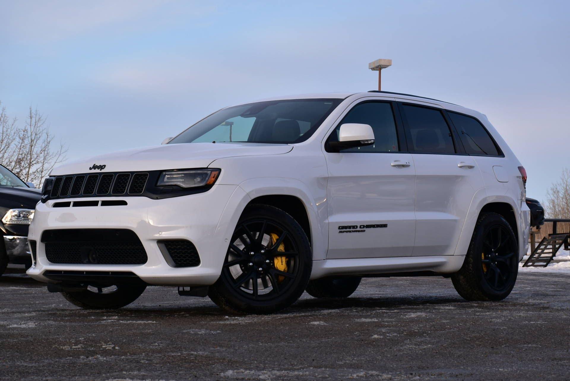 2018 jeep grand cherokee trackhawk w auto park adaptive cruise