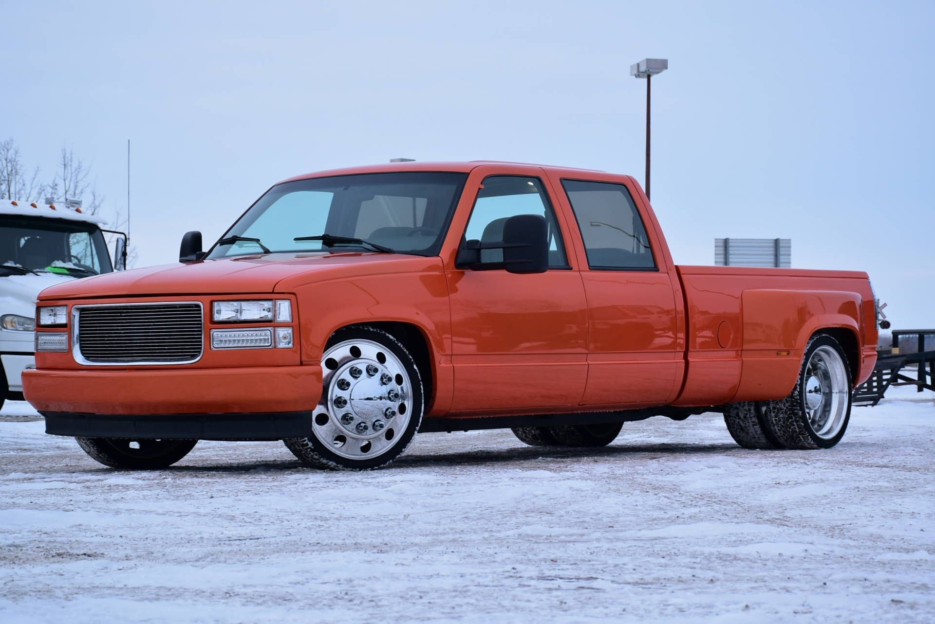 1993 chevrolet c k 3500 crew cab full custom