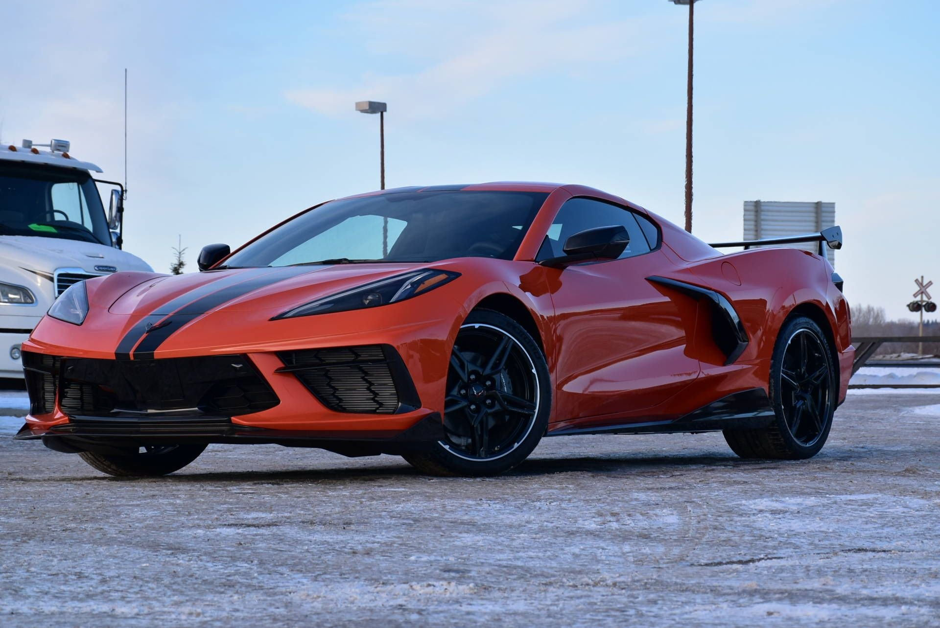 2020 chevrolet corvette 2dr stingray cpe w 2lt