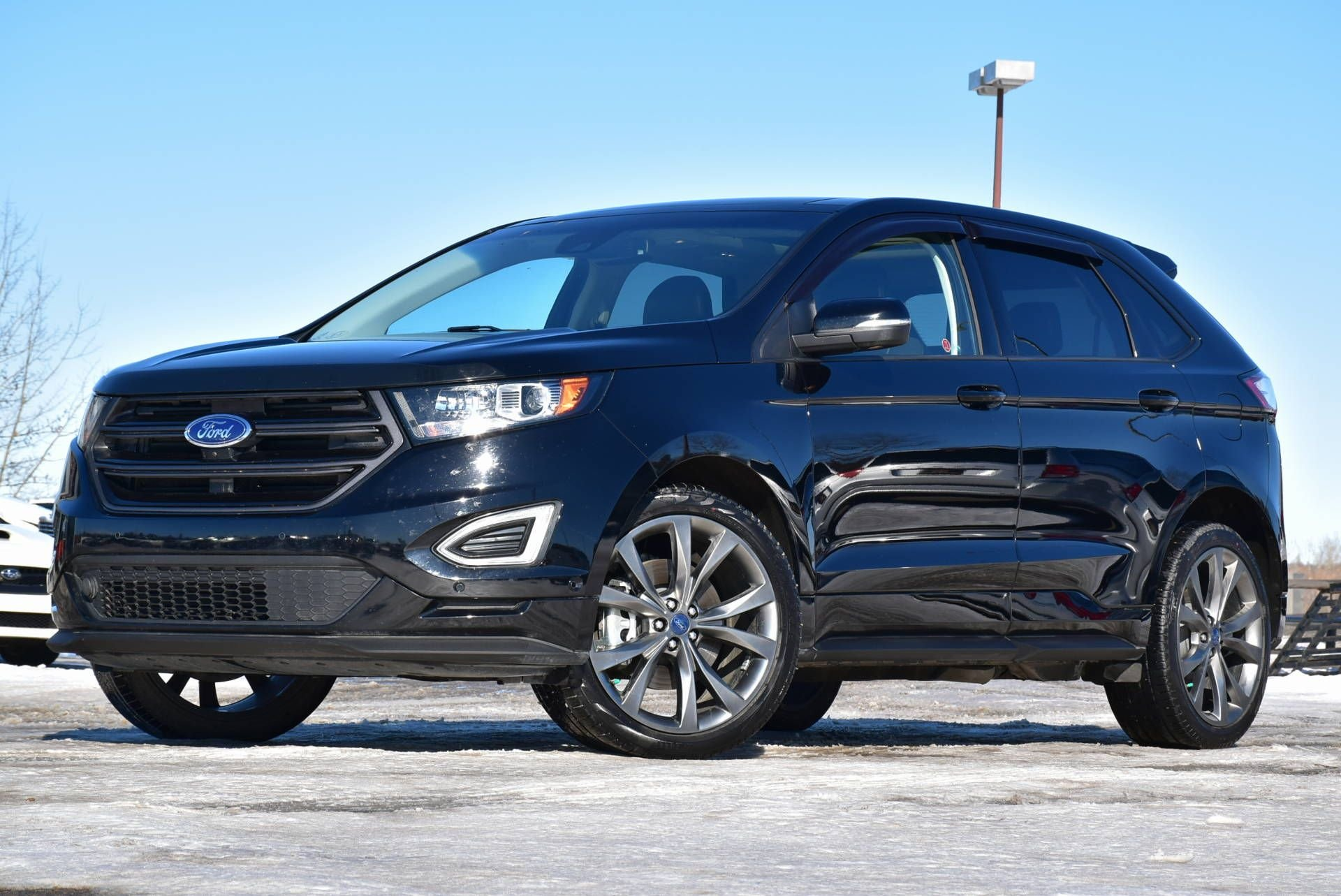 2017 ford edge sport with heated and cooled seats