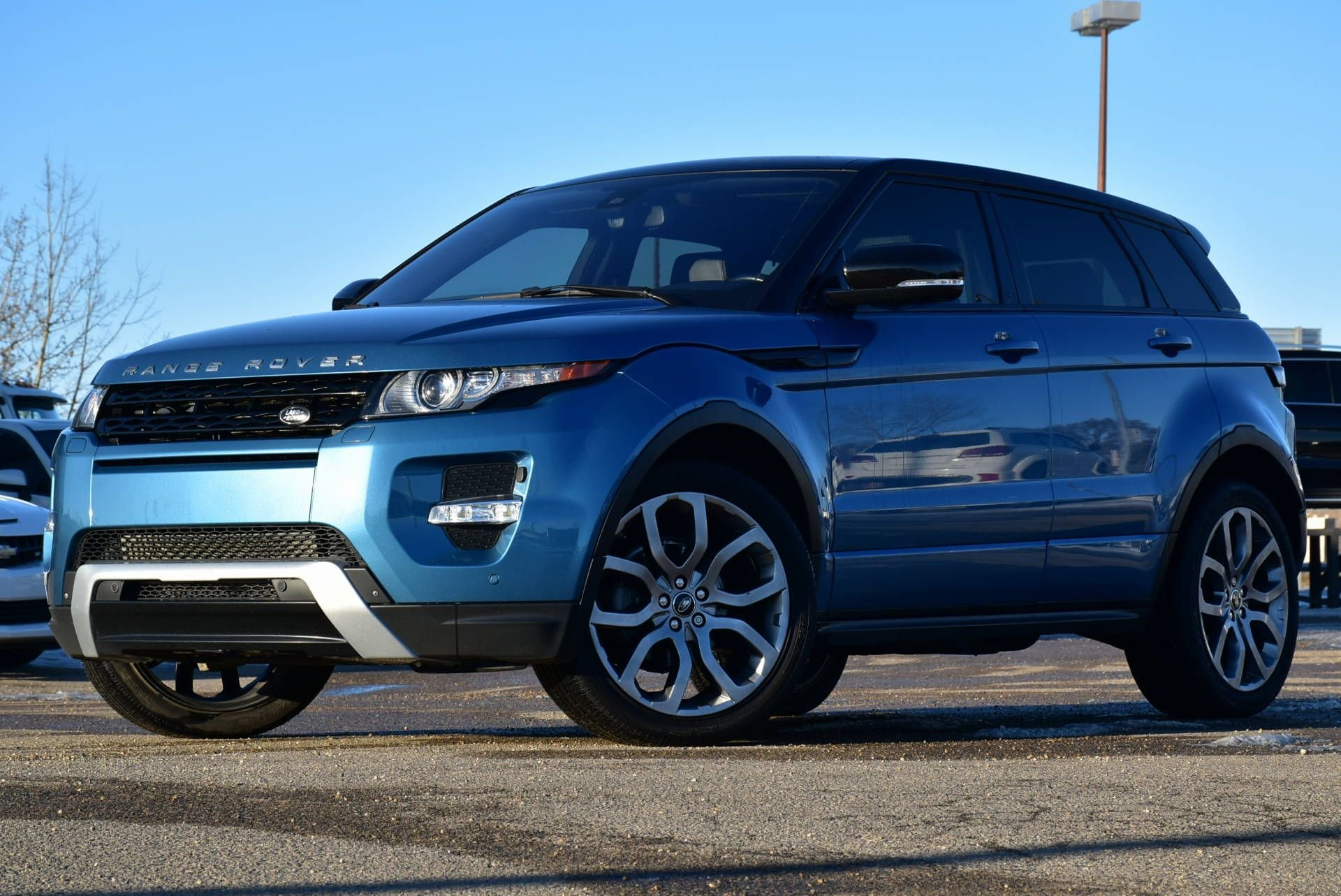 2013 land rover range rover evoque with heated seats
