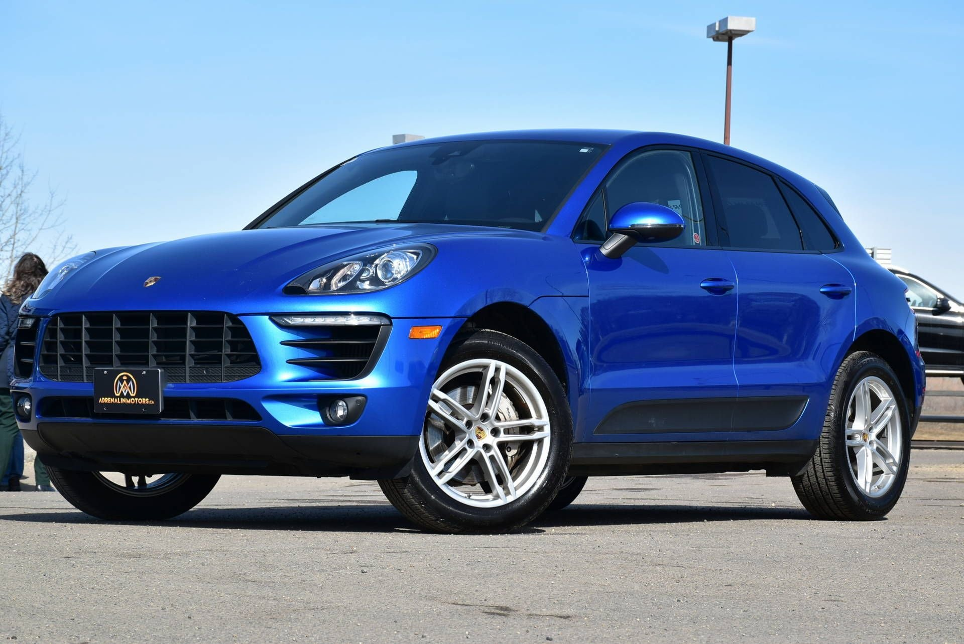 2018 porsche macan s with twin turbo v6