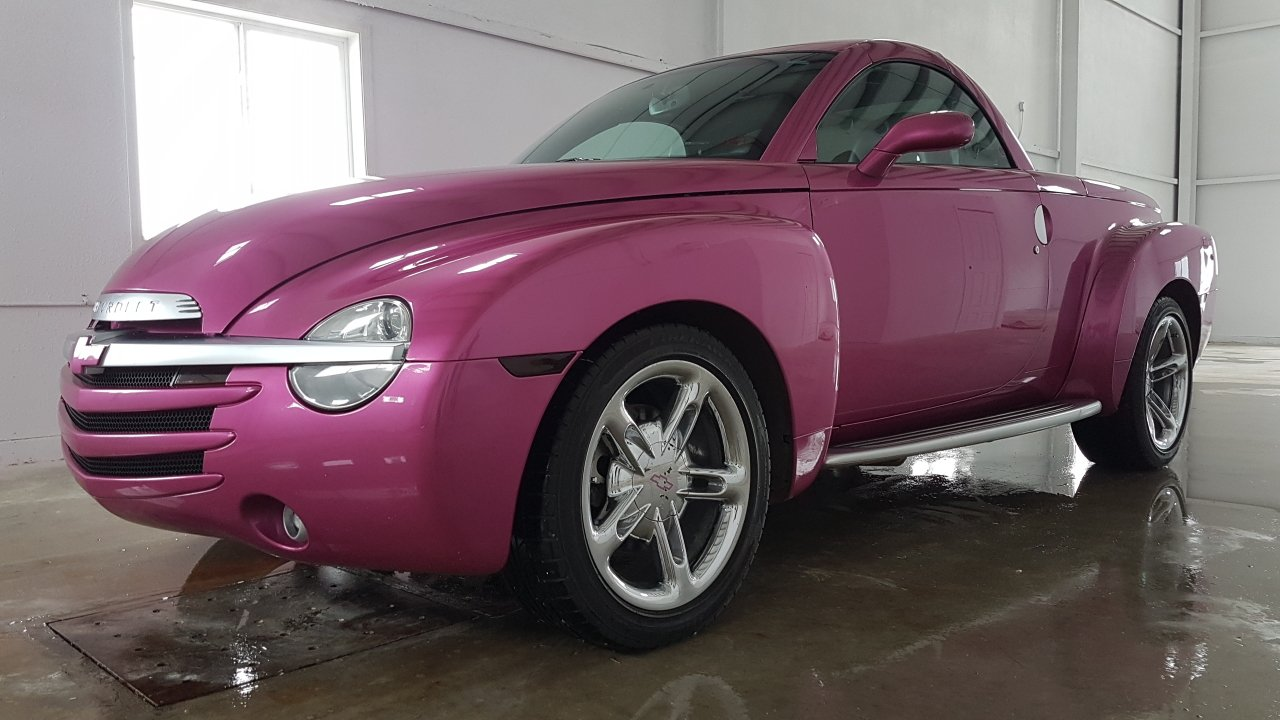 2004 chevrolet ssr custom painted