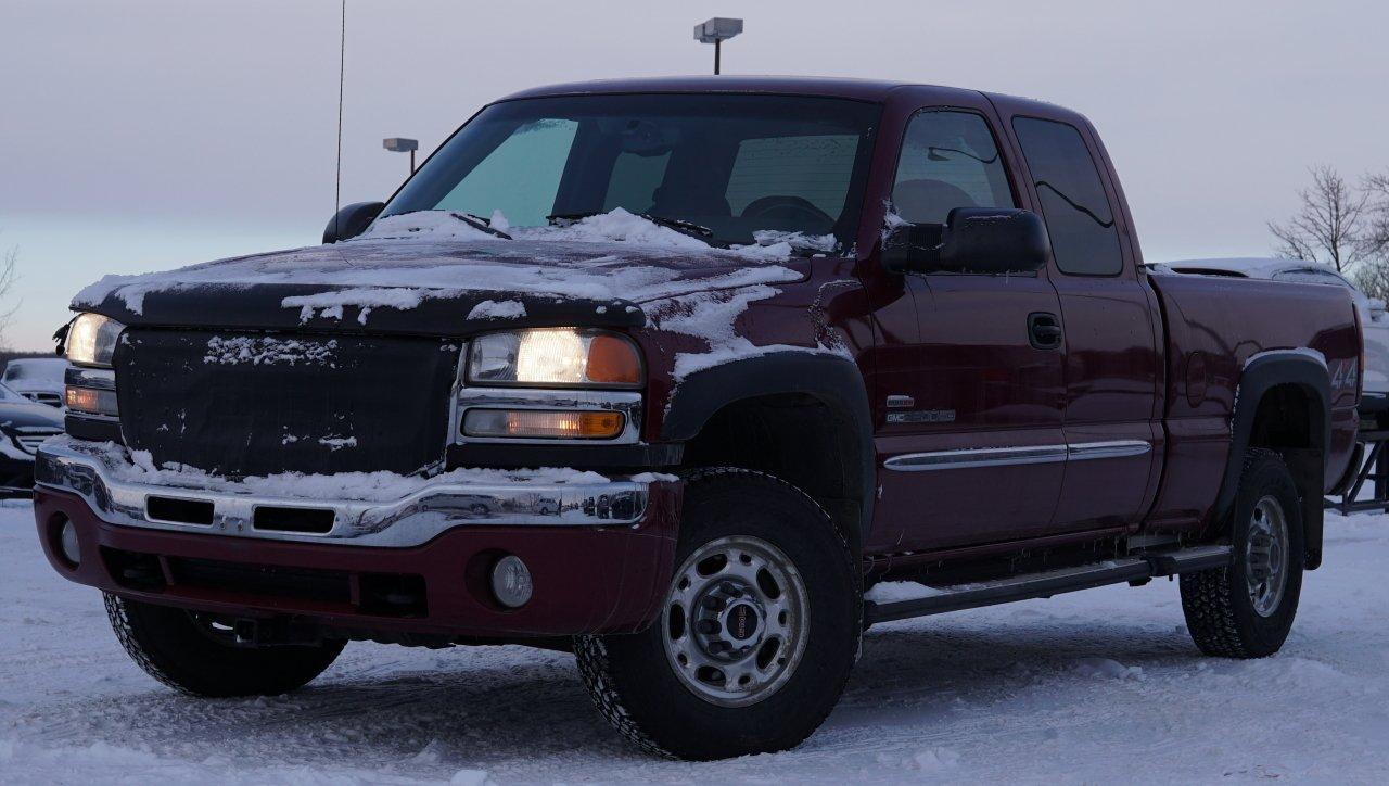 2004 gmc sierra 2500hd 4wd ext cab sle