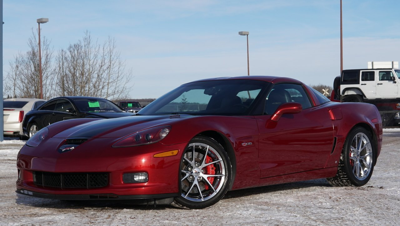 2008 chevrolet corvette z06 427 edition