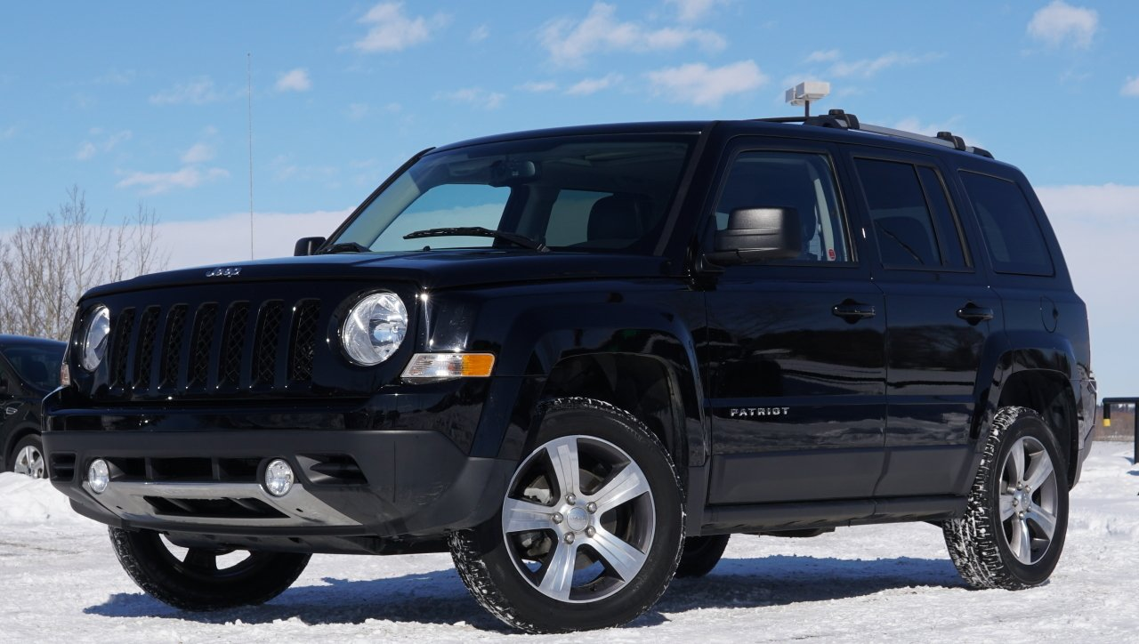 2016 jeep patriot high altitude fully loaded 4wd
