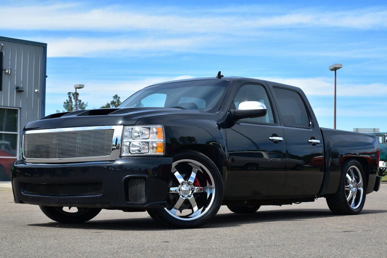 2012 chevrolet silverado 1500 full custom