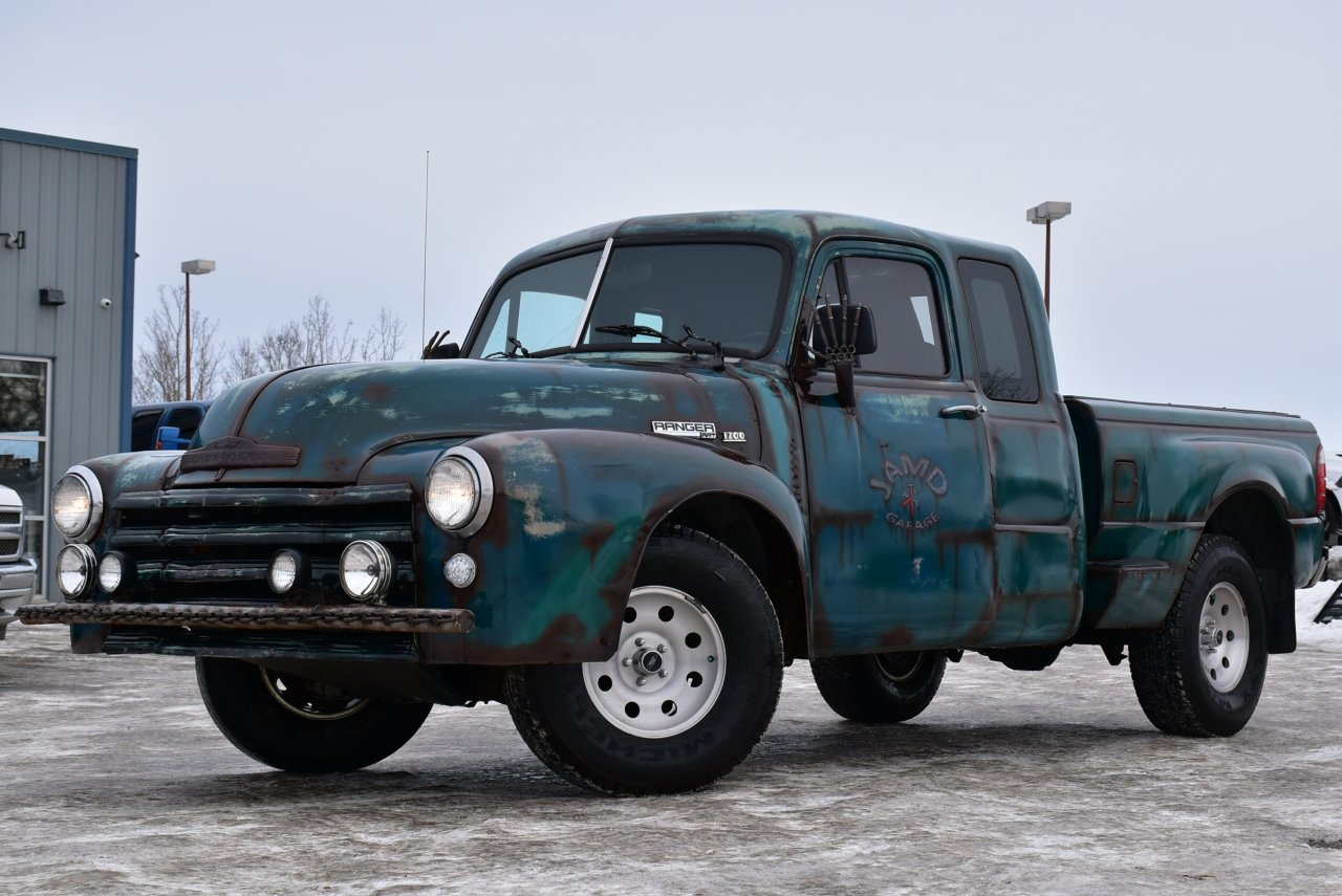 2004 ford ranger 1952 chevy custom