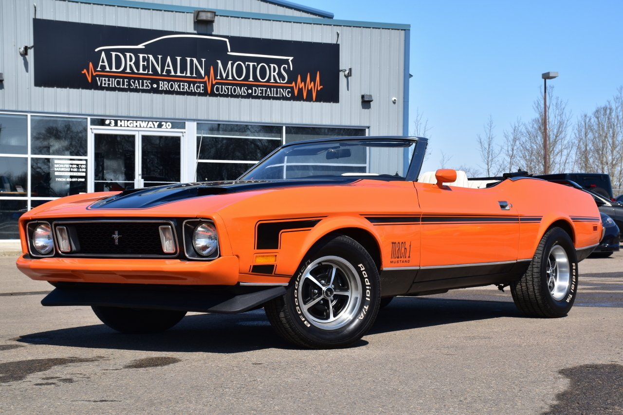 1973 ford mustang mach 1 tribute convertible