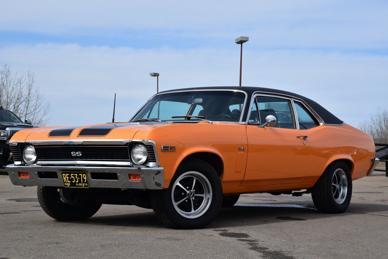 1969 chevrolet nova ss tribute coupe