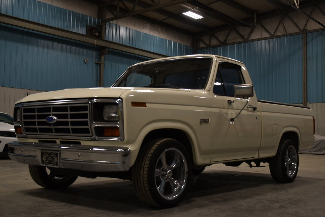 1983 ford f100 lowered custom