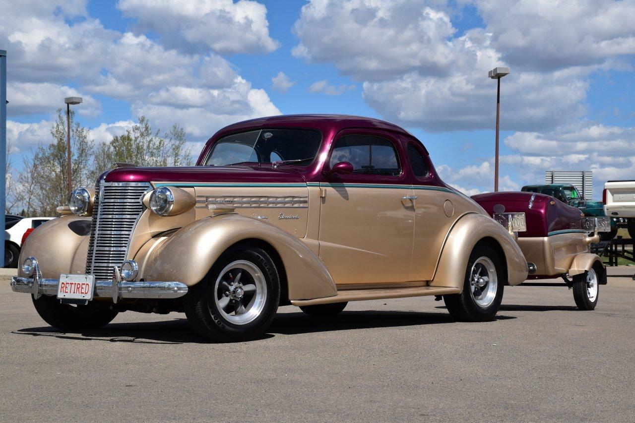 1938 chevrolet master deluxe w custom trailer