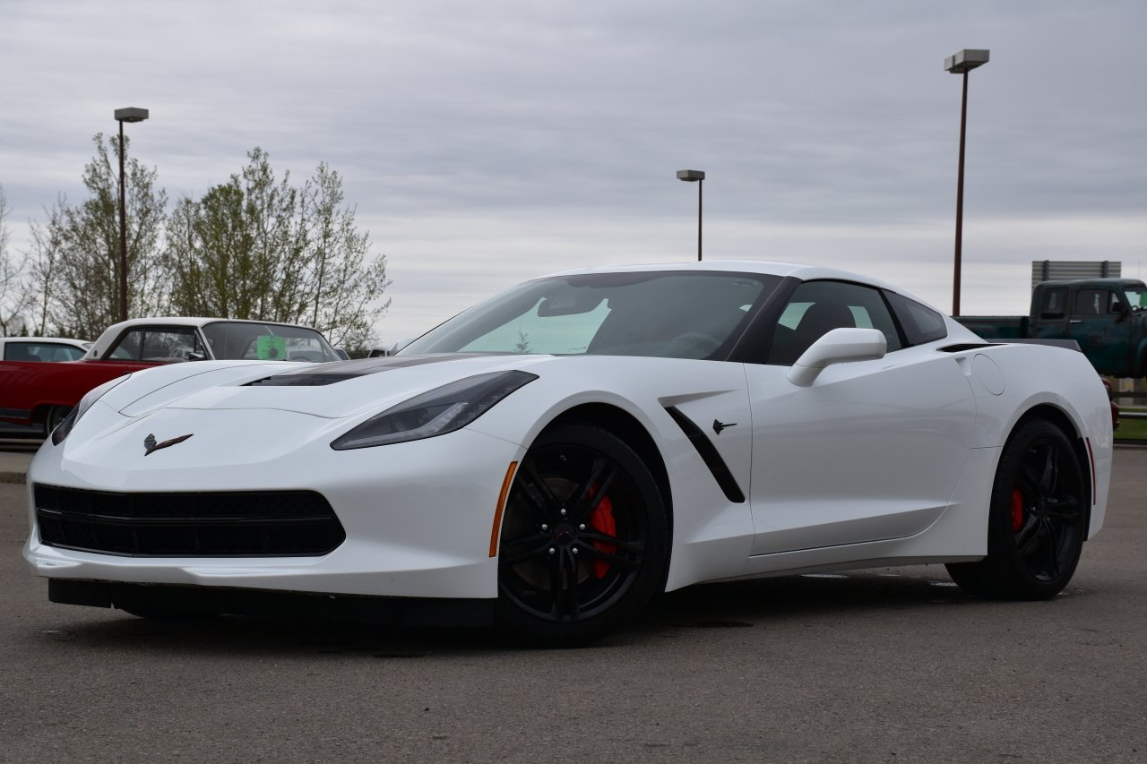 2017 chevrolet corvette stingray coupe w removable top