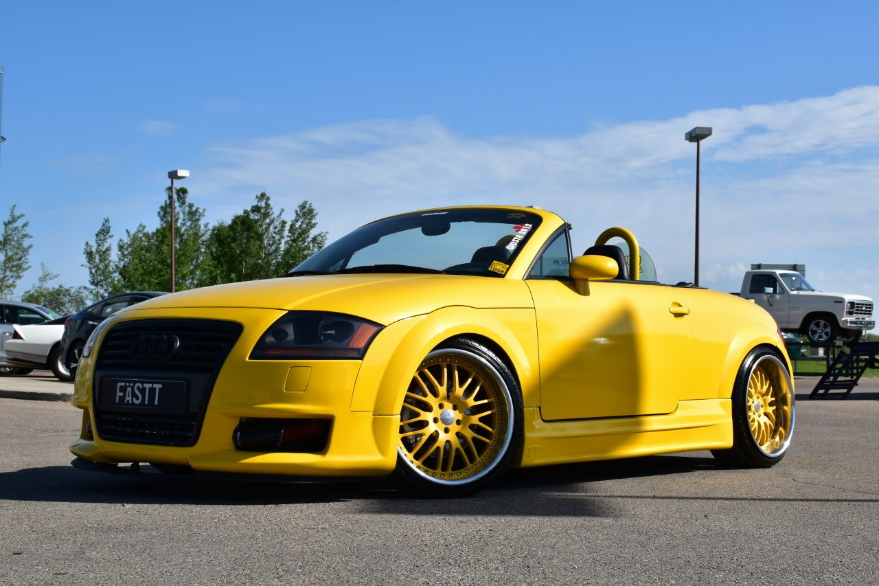 2002 audi tt roadster custom convertible quattro