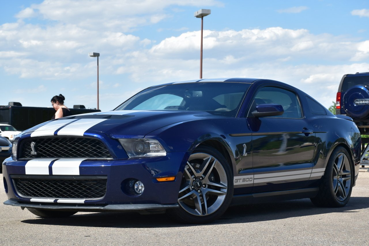 2010 ford mustang 2dr cpe shelby gt500