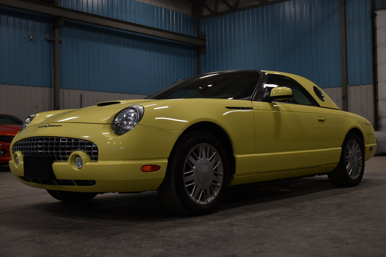 2002 ford thunderbird convertible w hard top 2dr